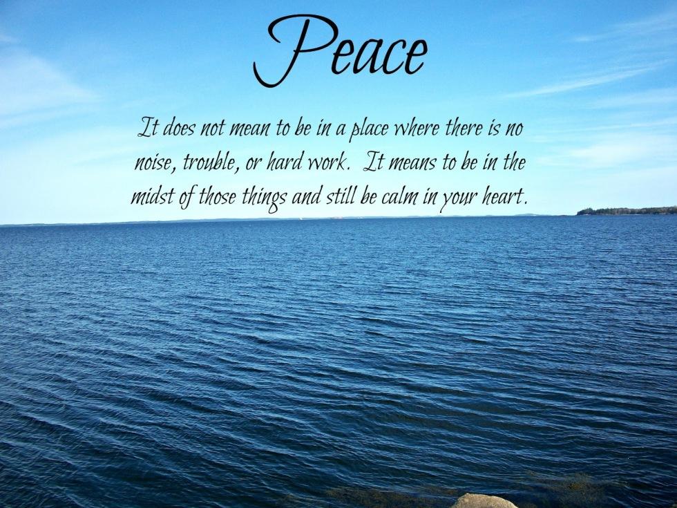 peacecalmheart2013