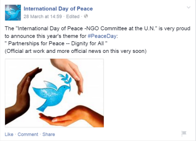 international day of peace partnership for peace