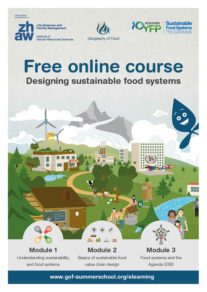"""The Elearning course """"designing sustainable food system"""" is now"""